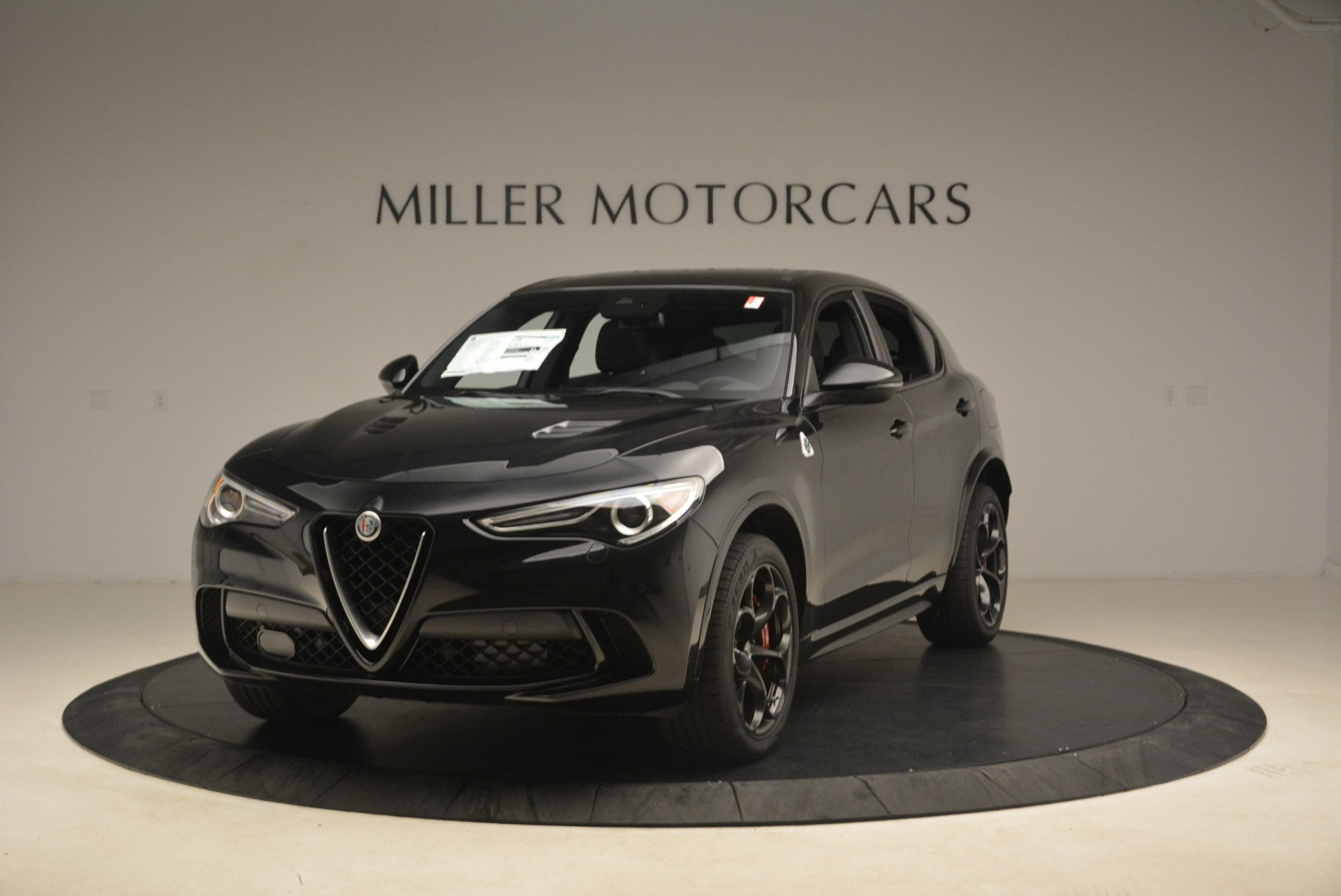 New 2019 Alfa Romeo Stelvio Quadrifoglio for sale Sold at Pagani of Greenwich in Greenwich CT 06830 1