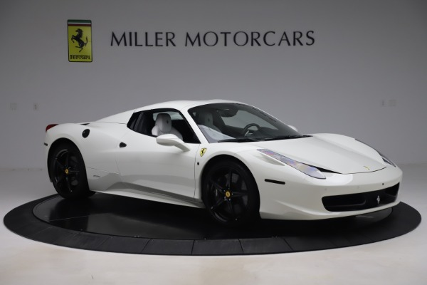 Used 2015 Ferrari 458 Spider for sale Sold at Pagani of Greenwich in Greenwich CT 06830 16