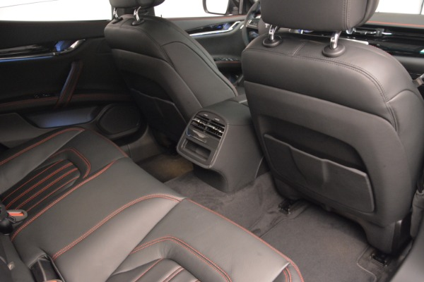 Used 2015 Maserati Quattroporte GTS for sale Sold at Pagani of Greenwich in Greenwich CT 06830 22