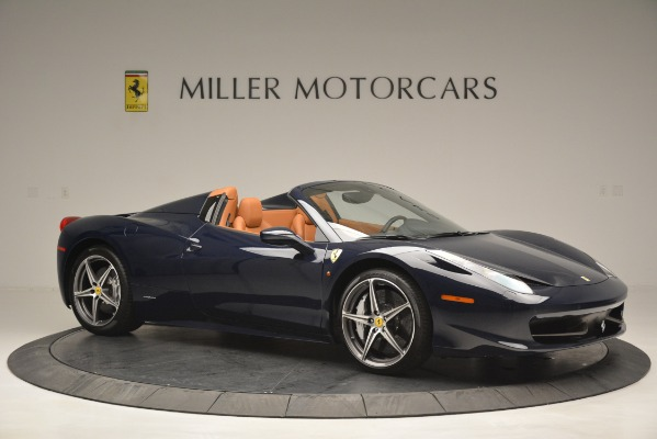Used 2014 Ferrari 458 Spider for sale Sold at Pagani of Greenwich in Greenwich CT 06830 10