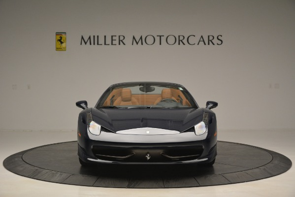 Used 2014 Ferrari 458 Spider for sale Sold at Pagani of Greenwich in Greenwich CT 06830 12