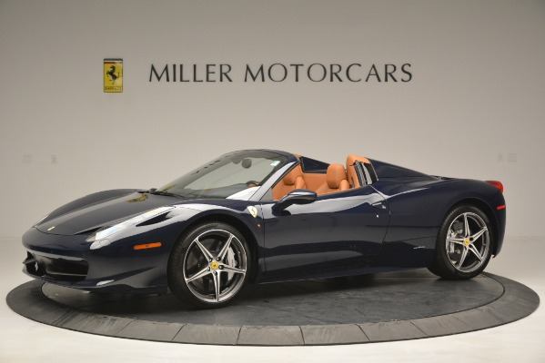 Used 2014 Ferrari 458 Spider for sale Sold at Pagani of Greenwich in Greenwich CT 06830 2