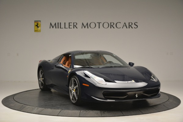 Used 2014 Ferrari 458 Spider for sale Sold at Pagani of Greenwich in Greenwich CT 06830 23