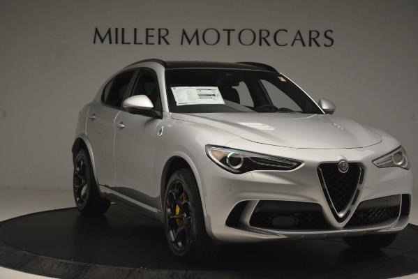 New 2019 Alfa Romeo Stelvio Quadrifoglio for sale $86,440 at Pagani of Greenwich in Greenwich CT 06830 11