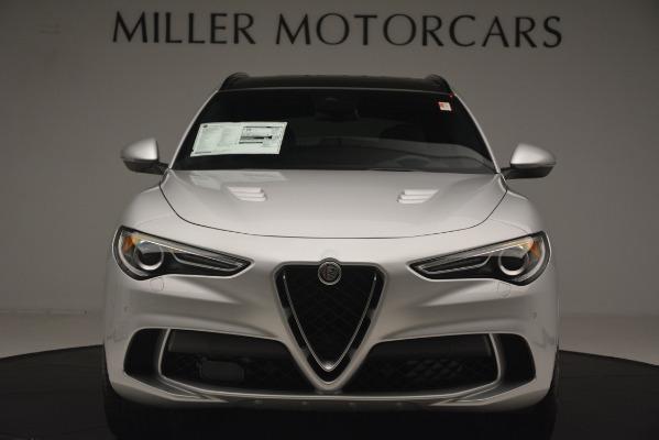 New 2019 Alfa Romeo Stelvio Quadrifoglio for sale $86,440 at Pagani of Greenwich in Greenwich CT 06830 12