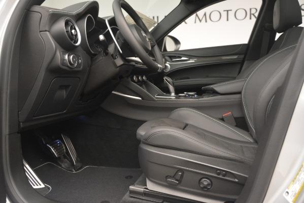New 2019 Alfa Romeo Stelvio Quadrifoglio for sale $86,440 at Pagani of Greenwich in Greenwich CT 06830 14