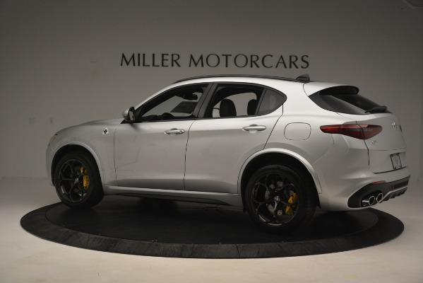New 2019 Alfa Romeo Stelvio Quadrifoglio for sale $86,440 at Pagani of Greenwich in Greenwich CT 06830 4
