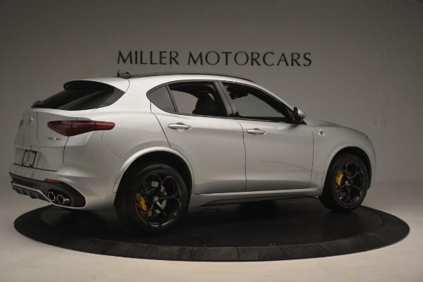 New 2019 Alfa Romeo Stelvio Quadrifoglio for sale $86,440 at Pagani of Greenwich in Greenwich CT 06830 8