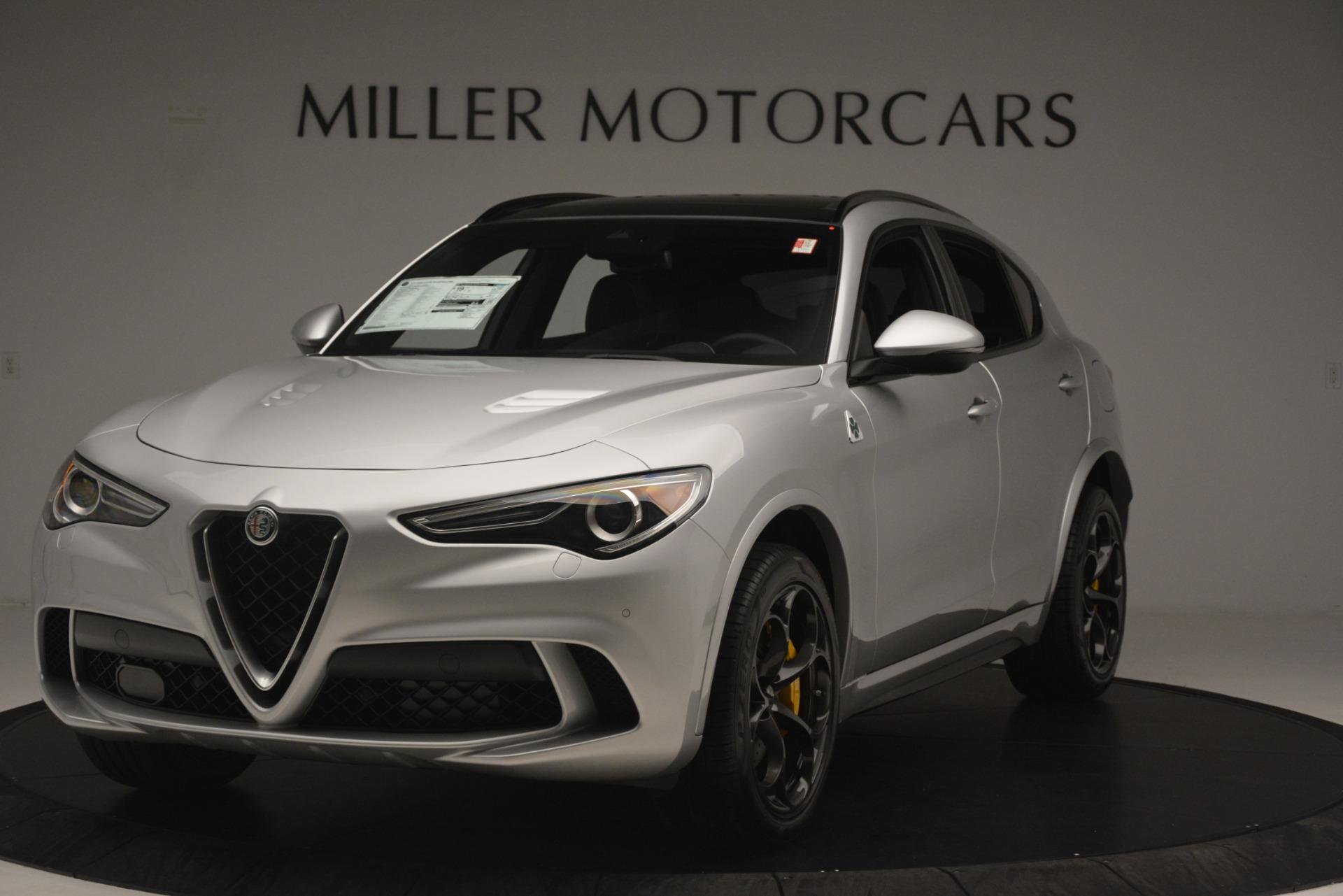 New 2019 Alfa Romeo Stelvio Quadrifoglio for sale $86,440 at Pagani of Greenwich in Greenwich CT 06830 1