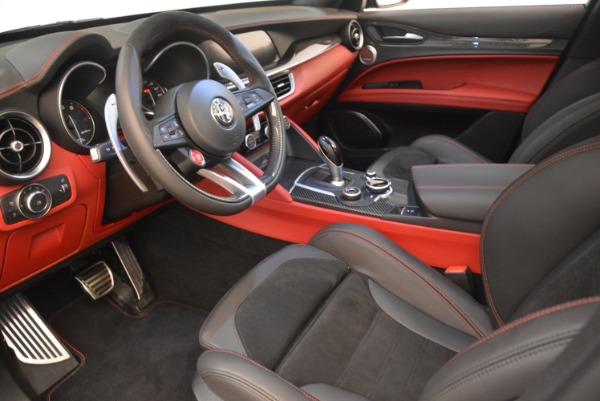 New 2019 Alfa Romeo Stelvio Quadrifoglio for sale $86,440 at Pagani of Greenwich in Greenwich CT 06830 13