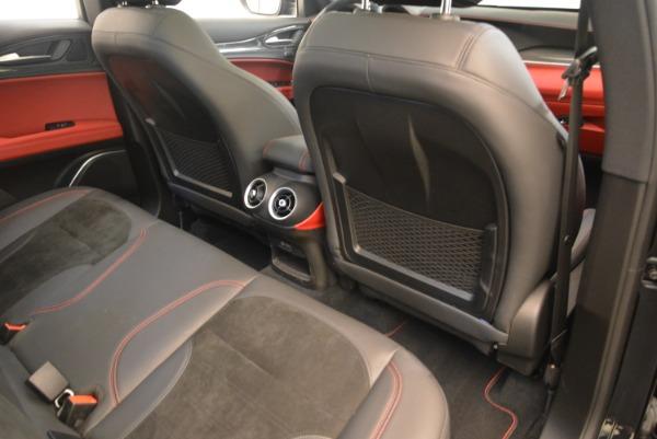 New 2019 Alfa Romeo Stelvio Quadrifoglio for sale $86,440 at Pagani of Greenwich in Greenwich CT 06830 22