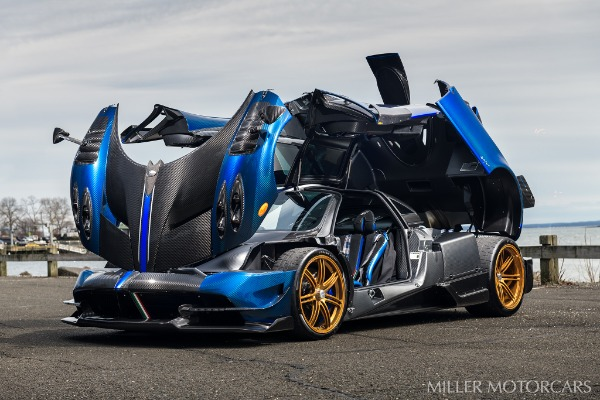 Used 2017 Pagani Huayra BC Macchina Volante for sale Call for price at Pagani of Greenwich in Greenwich CT 06830 12