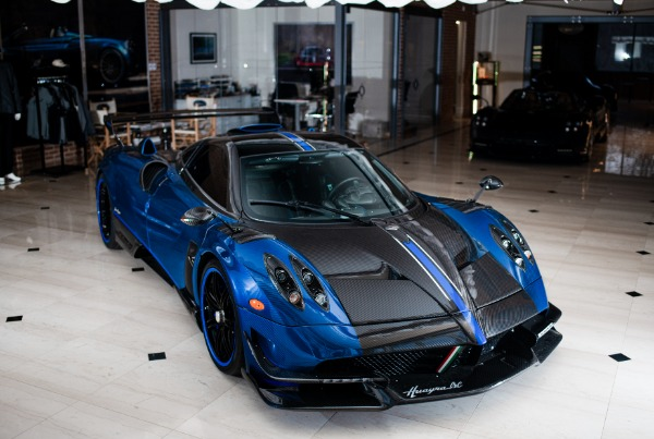 Used 2017 Pagani Huayra BC Macchina Volante for sale Call for price at Pagani of Greenwich in Greenwich CT 06830 5
