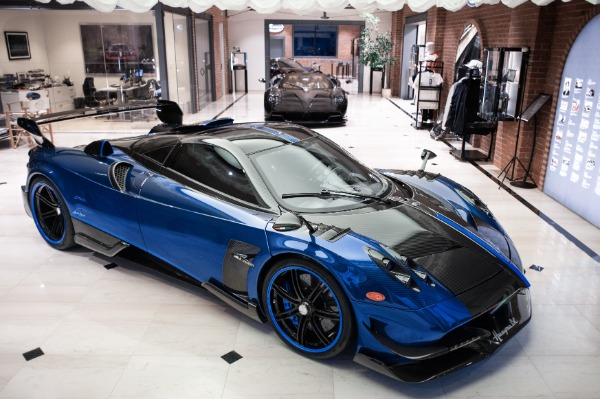Used 2017 Pagani Huayra BC Macchina Volante for sale Call for price at Pagani of Greenwich in Greenwich CT 06830 1