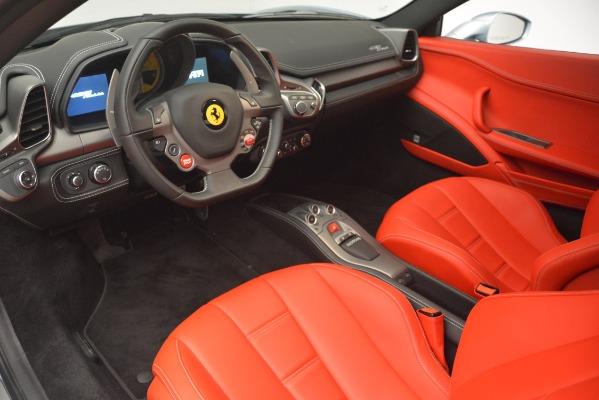 Used 2015 Ferrari 458 Italia for sale Call for price at Pagani of Greenwich in Greenwich CT 06830 13