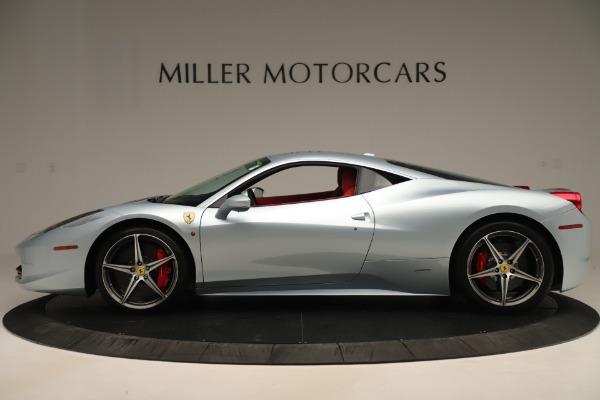 Used 2015 Ferrari 458 Italia for sale Call for price at Pagani of Greenwich in Greenwich CT 06830 3
