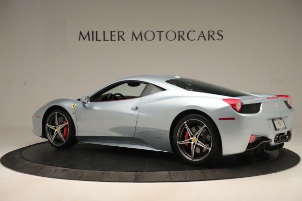 Used 2015 Ferrari 458 Italia for sale Call for price at Pagani of Greenwich in Greenwich CT 06830 4