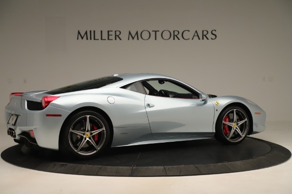 Used 2015 Ferrari 458 Italia for sale Call for price at Pagani of Greenwich in Greenwich CT 06830 8