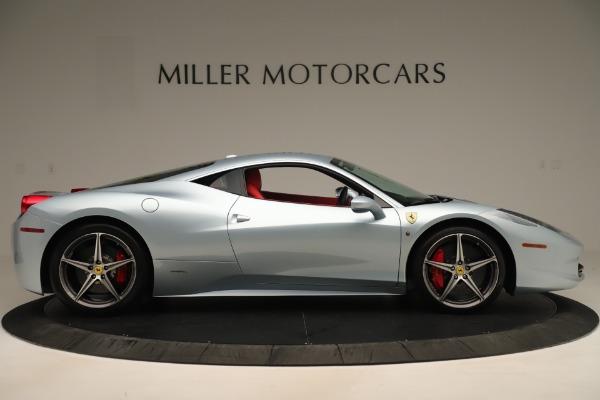 Used 2015 Ferrari 458 Italia for sale Call for price at Pagani of Greenwich in Greenwich CT 06830 9
