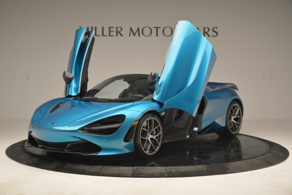 New 2019 McLaren 720S Spider for sale Sold at Pagani of Greenwich in Greenwich CT 06830 13