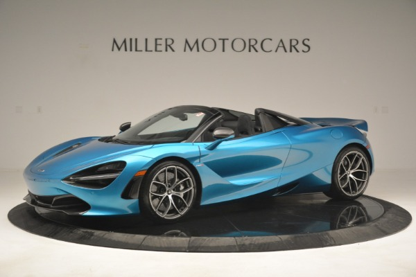 New 2019 McLaren 720S Spider for sale Sold at Pagani of Greenwich in Greenwich CT 06830 1