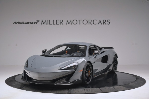 New 2019 McLaren 600LT Coupe for sale Sold at Pagani of Greenwich in Greenwich CT 06830 2