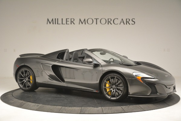 Used 2016 McLaren 650S Spider Convertible for sale Sold at Pagani of Greenwich in Greenwich CT 06830 10