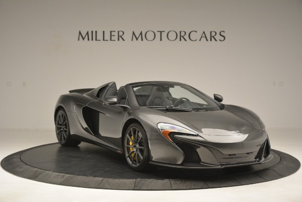 Used 2016 McLaren 650S Spider Convertible for sale Sold at Pagani of Greenwich in Greenwich CT 06830 11