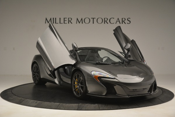 Used 2016 McLaren 650S Spider Convertible for sale Sold at Pagani of Greenwich in Greenwich CT 06830 12