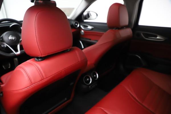 New 2019 Alfa Romeo Giulia Ti Sport Q4 for sale Sold at Pagani of Greenwich in Greenwich CT 06830 20