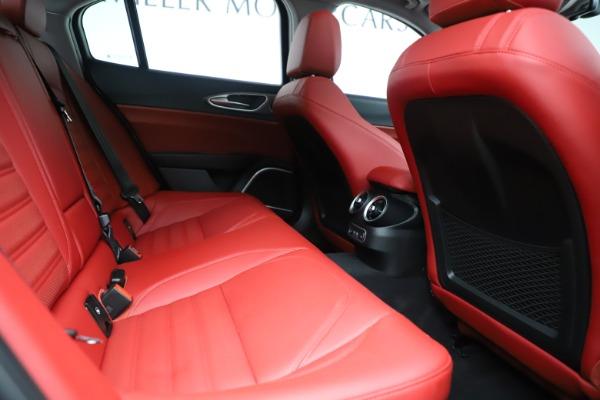 New 2019 Alfa Romeo Giulia Ti Sport Q4 for sale Sold at Pagani of Greenwich in Greenwich CT 06830 27