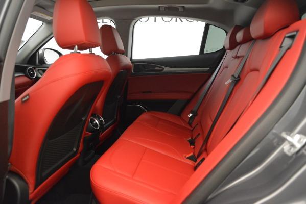 New 2019 Alfa Romeo Stelvio Sport Q4 for sale Sold at Pagani of Greenwich in Greenwich CT 06830 19