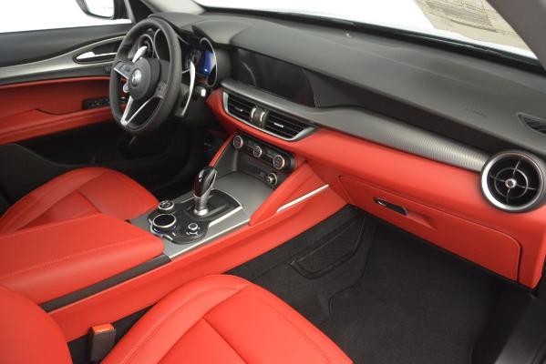 New 2019 Alfa Romeo Stelvio Sport Q4 for sale Sold at Pagani of Greenwich in Greenwich CT 06830 22