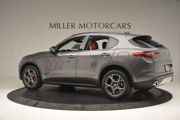 New 2019 Alfa Romeo Stelvio Sport Q4 for sale Sold at Pagani of Greenwich in Greenwich CT 06830 4
