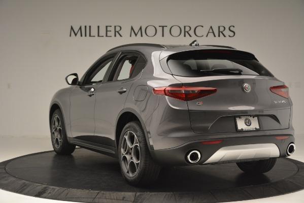 New 2019 Alfa Romeo Stelvio Sport Q4 for sale Sold at Pagani of Greenwich in Greenwich CT 06830 5