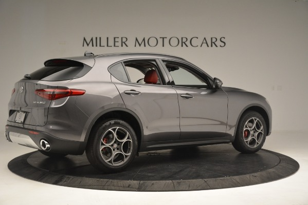 New 2019 Alfa Romeo Stelvio Sport Q4 for sale Sold at Pagani of Greenwich in Greenwich CT 06830 8