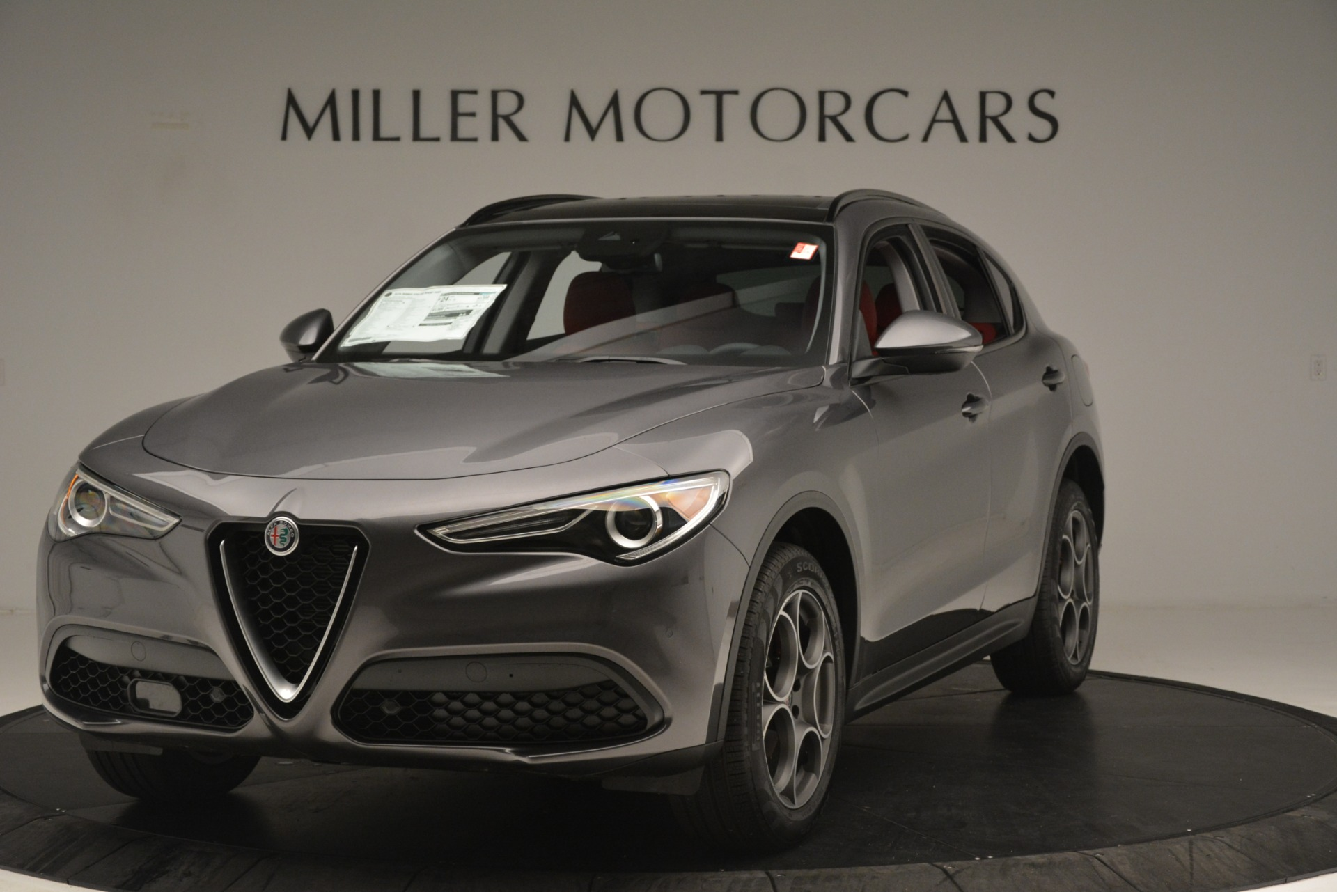 New 2019 Alfa Romeo Stelvio Sport Q4 for sale Sold at Pagani of Greenwich in Greenwich CT 06830 1