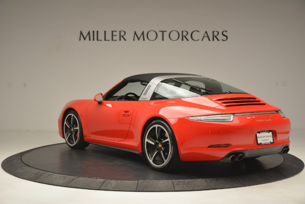 Used 2016 Porsche 911 Targa 4S for sale Sold at Pagani of Greenwich in Greenwich CT 06830 15