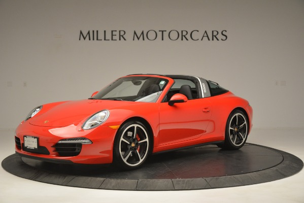 Used 2016 Porsche 911 Targa 4S for sale Sold at Pagani of Greenwich in Greenwich CT 06830 2