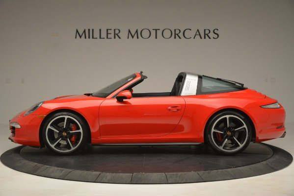 Used 2016 Porsche 911 Targa 4S for sale Sold at Pagani of Greenwich in Greenwich CT 06830 3