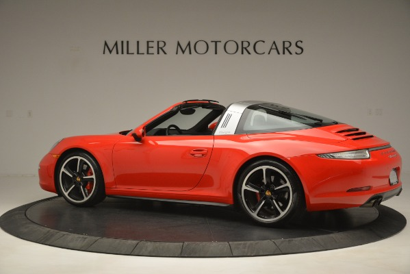 Used 2016 Porsche 911 Targa 4S for sale Sold at Pagani of Greenwich in Greenwich CT 06830 4