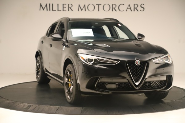 Used 2019 Alfa Romeo Stelvio Quadrifoglio for sale $67,900 at Pagani of Greenwich in Greenwich CT 06830 11