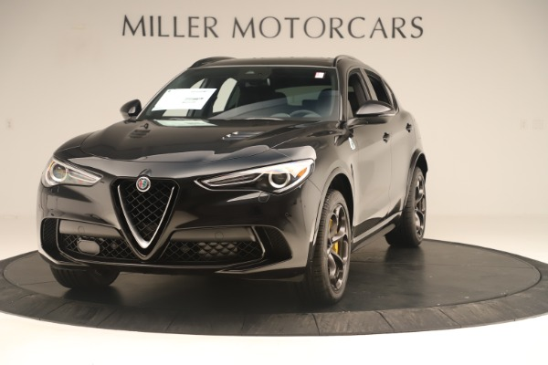 Used 2019 Alfa Romeo Stelvio Quadrifoglio for sale $67,900 at Pagani of Greenwich in Greenwich CT 06830 1