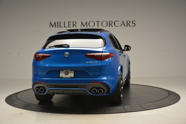 New 2019 Alfa Romeo Stelvio Quadrifoglio for sale $86,790 at Pagani of Greenwich in Greenwich CT 06830 10