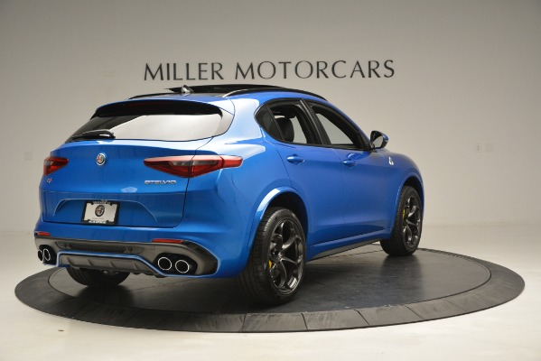 New 2019 Alfa Romeo Stelvio Quadrifoglio for sale $86,790 at Pagani of Greenwich in Greenwich CT 06830 11