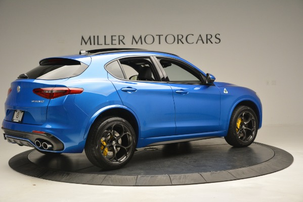 New 2019 Alfa Romeo Stelvio Quadrifoglio for sale $86,790 at Pagani of Greenwich in Greenwich CT 06830 12