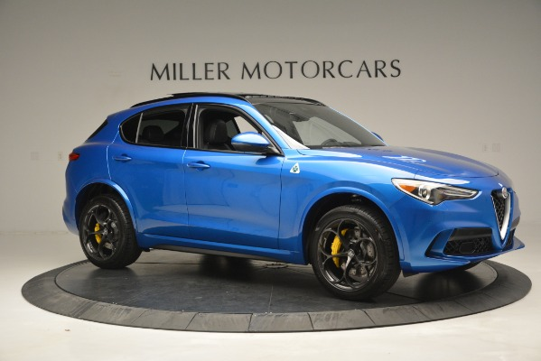 New 2019 Alfa Romeo Stelvio Quadrifoglio for sale $86,790 at Pagani of Greenwich in Greenwich CT 06830 16