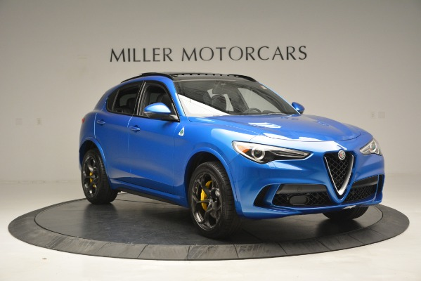 New 2019 Alfa Romeo Stelvio Quadrifoglio for sale $86,790 at Pagani of Greenwich in Greenwich CT 06830 17