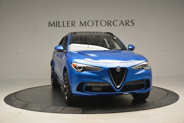 New 2019 Alfa Romeo Stelvio Quadrifoglio for sale $86,790 at Pagani of Greenwich in Greenwich CT 06830 18