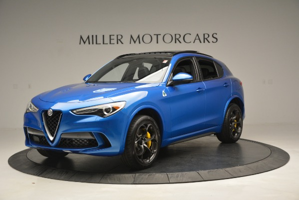 New 2019 Alfa Romeo Stelvio Quadrifoglio for sale $86,790 at Pagani of Greenwich in Greenwich CT 06830 2